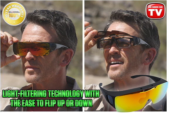 Flip-Up Tac Glasses